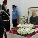 Bangladesh PM pays last respect to Pranab Mukherjee