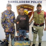 Two arrested at Dhaka Airport, 2 kg gold seized