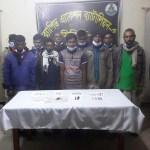 10 'drug addicts' held in Natore