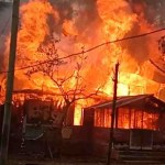 Lt Commander Moazzem Hossain's house destroyed in fire