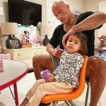 'Every man wants a son, but every man needs a daughter,' says The Rock