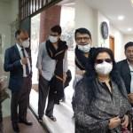 Runa Laila, Alamgir receive COVID-19 vaccine