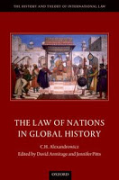 Armitage & Pitts: Alexandrowicz on The Law of Nations in Global History