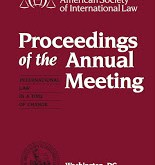 ASIL: Proceedings of the 110th Annual Meeting
