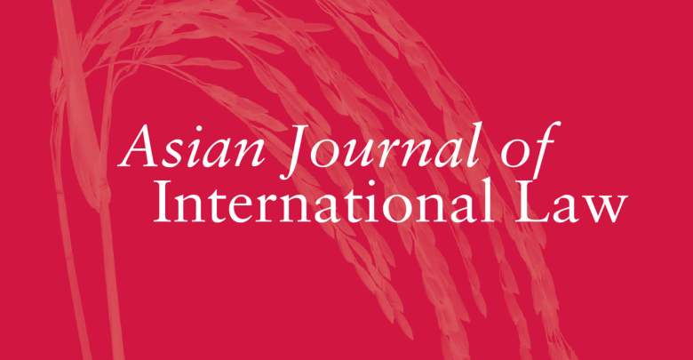 Asian Journal of International Law - Volume 9, Issue 2, July 2019