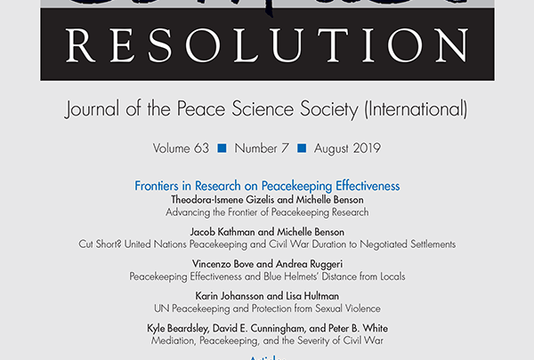 Journal of Conflict Resolution - Volume 63 Issue 7, August 2019