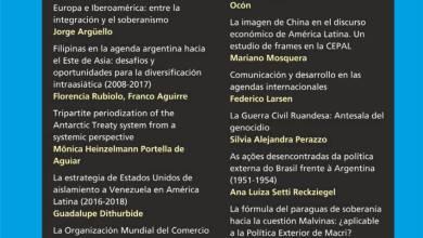 Revista Relaciones Internacionales - Nro 56 Enero/Junio 2019