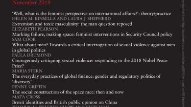 International Affairs - Volume 95, Issue 5, September 2019