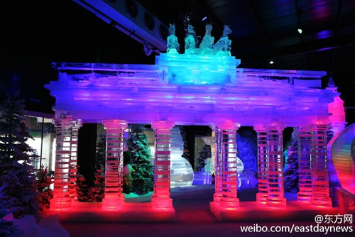Ice Town Opens In Shanghai Italy Center Eastday