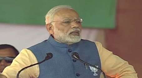BJP will strain every nerve to ensure a Congress free India by defeating Congress in Karnataka – Modi