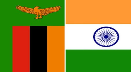 India, Zambia sign four pacts in Lusaka during President's visit