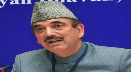 BJP had kidnapped Congress Legislators and kept in captivity: Gulab Nabi Azad