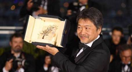 Japanese film 'Shoplifters' wins Palme d'Or