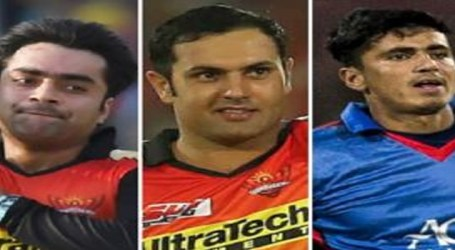 Rashid, Nabi and Mujeeb to fore in T20I rankings