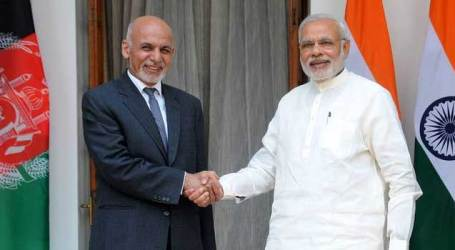 Focus on security, regional issues during Afghan President dialogues with PM Modi