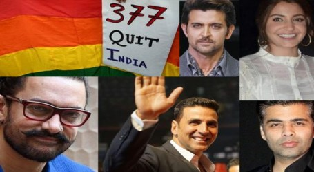 Bollywood hails homosexuality judgement, calls it historic