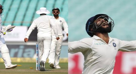 India vs West Indies 1st Test: Jadeja hit century, a run out and first-ball wicket, Ton for Kohli