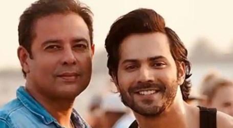 Varun Dhawan from the sets of Salman Khan's Bharat
