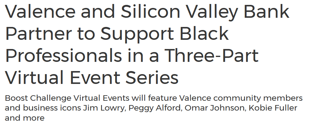 Silicon Valley Bank announces partnership with Valence