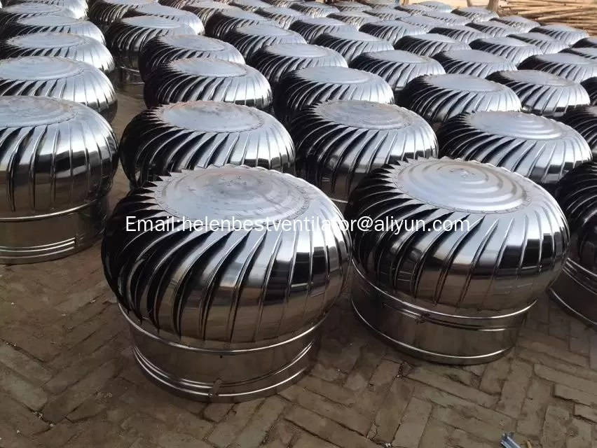 wind driven roof turbine ventilator fan powerless roof turbine ventilator fans