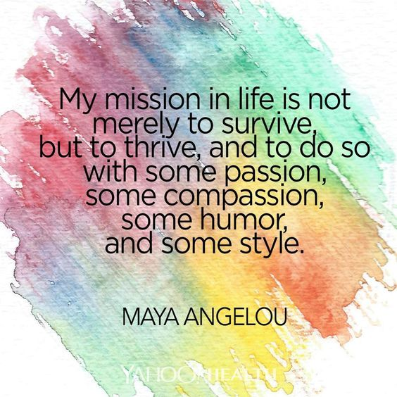 Image result for maya angelou my mission in life