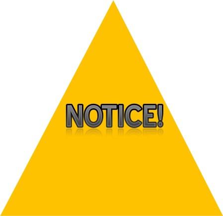 Pengertian dan Contoh Notice Bahasa Inggris