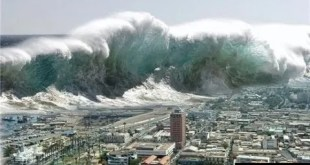 Example of Explanation Text (Tsunami)