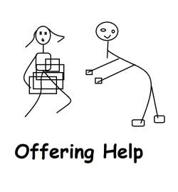 Contoh Offering Help formal dan Informal