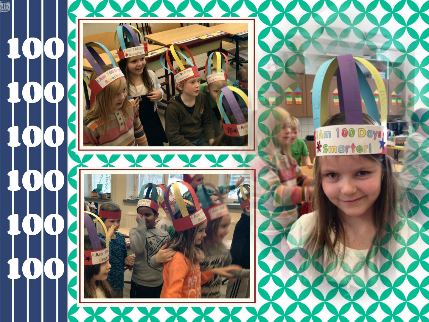 100th Day Crowns English Classes At Cygnaeus School