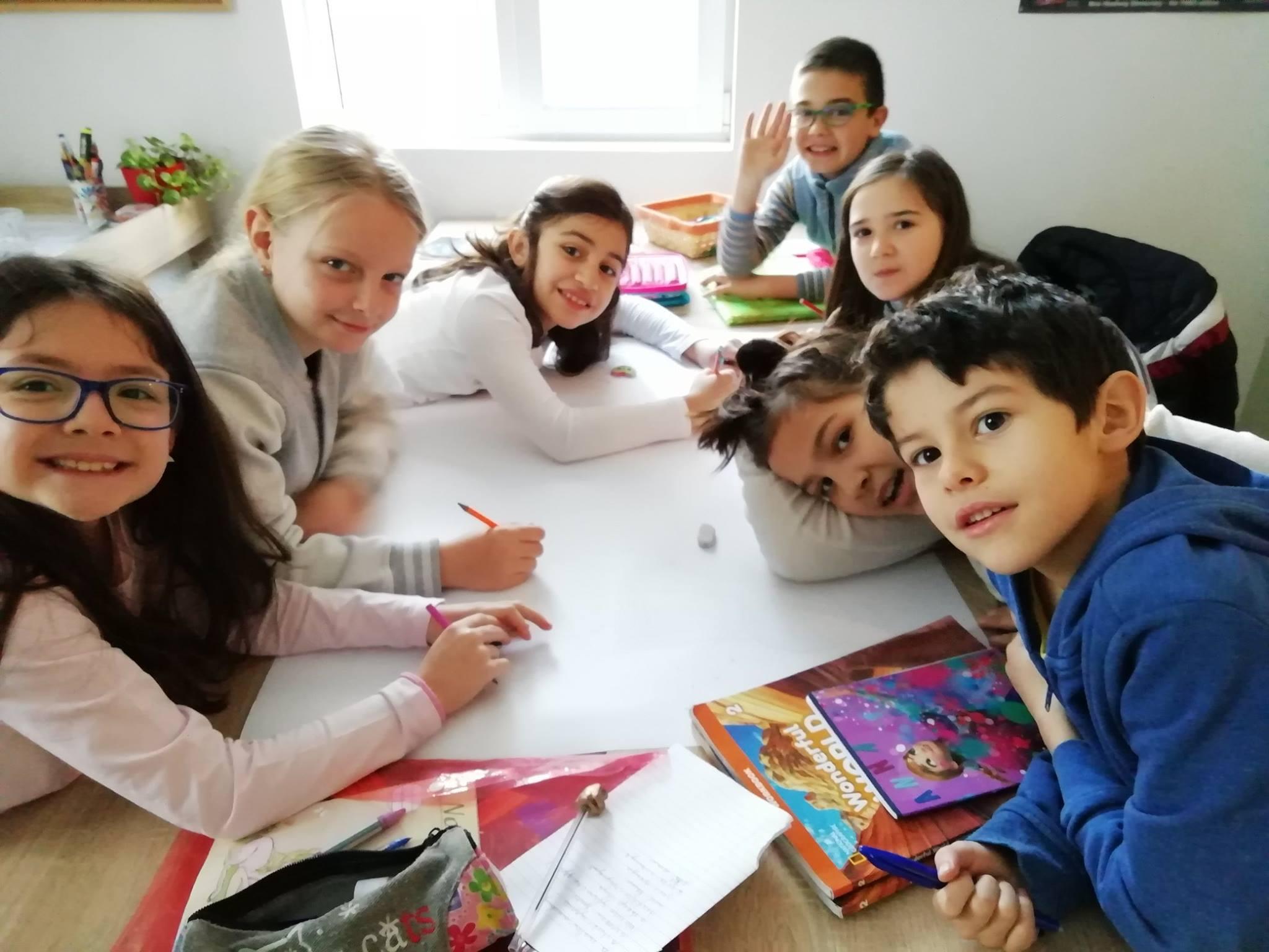 Курсове по английски за ученици 1-4 клас