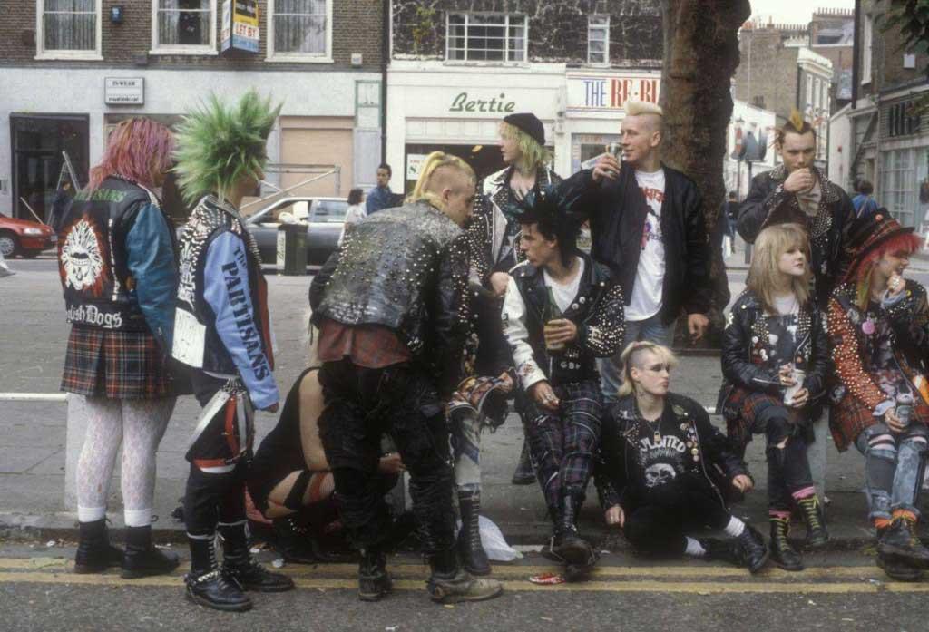 80s Punk Style Clothing
