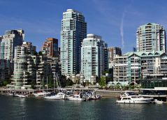 Granville Island Vancouver. The largest shopping complex in the region