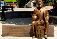 James Naismith, a Canadian is credited with the invention of the game of basketball