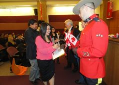 Citizenship ceremonies for newly sworn-in citizens