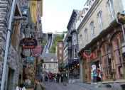 Quebec is a city with a European look and feel. Dominated by French culture and cafe life
