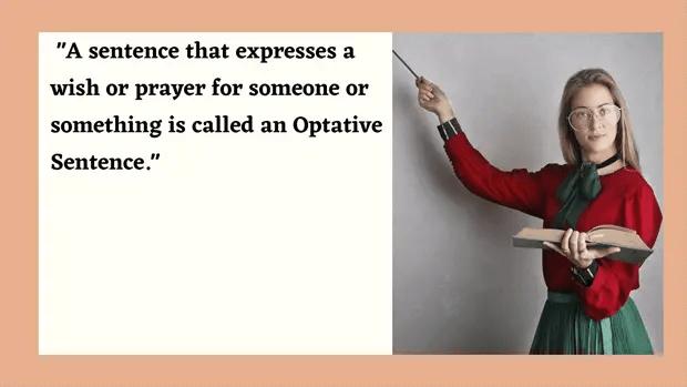 Optative Sentence