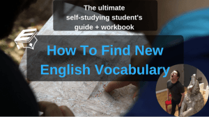 find new vocabulary