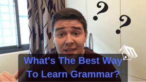 best way to learn english grammar