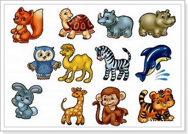 Животные на английском языке с переводом в картинках