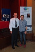 With organiser and PronSIG activist Pedro Luchini