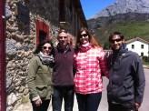 In-service training with teachers in Vegacervera, León.
