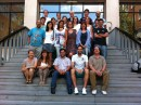 Happy teachers even after a week's immersion in English in sweltering temperatures in the heart of Madrid.