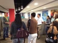 Western Union Supervisor is explaining to ITCA Students