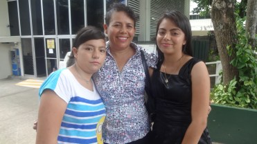 Yaquelin and her family