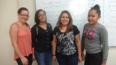 Miryam,Evelin,Rocio,Stephanie
