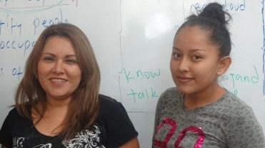 Rocio and Stephanie