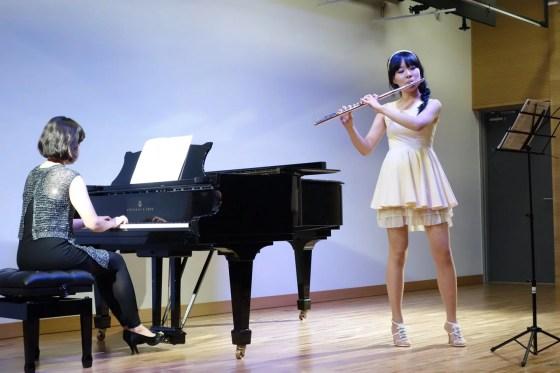 F. Martin - Ballad for Flute and Piano - Song Hye-ri (flute), Ahn Hyelim (piano) - PHOTO: Charles Ian Chun