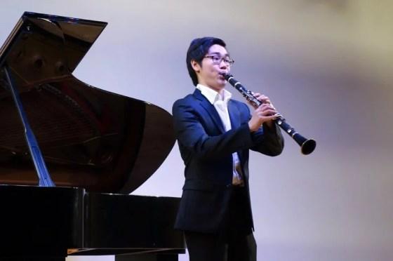 I. Stravinksy - 3 Pieces for Clarinet - Lee Sun-ho (clarinet) - PHOTO: Charles Ian Chun