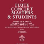 Kangnam University & German School of Music Weimar present Masters & Students Flute Concert: Hyeri Yoon, Philipp Jundt, Dorothee Binding, GSMW flute students, Hyelim Ahn and Shunji Hirota (piano), Dolce Art Hall, Seoul 2 Dec 2013