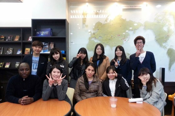 The Kangnam International Student Society (PHOTO: Han Jini)